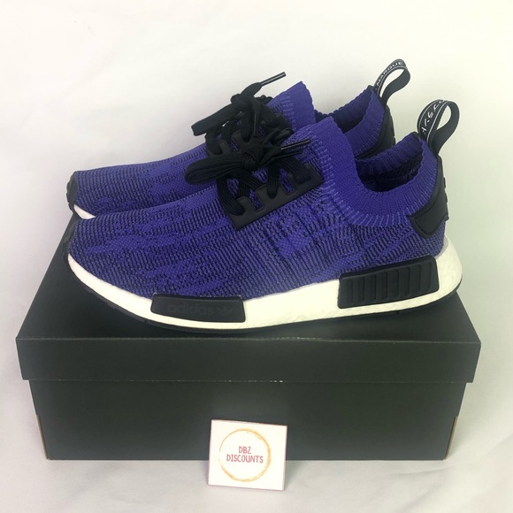 new style ccc4c 5856d Adidas NMD R1 PK Energy ink purple New with box NWT